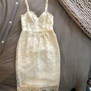 Victoria's Secret ivory lace dress